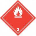 Naklejka ADR - GAZY ŁATWOPALNE 2.1 (biały) 300x300