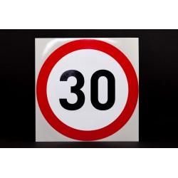 Naklejka Limit prędkości 30 km/h