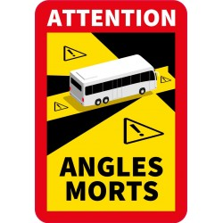 Nalepka ANGLES MORTS TIR