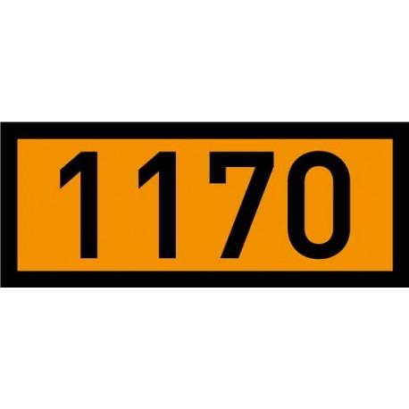 Naklejka, tablica ADR - Połwa Tablicy 120 x 300 mm